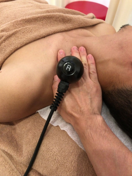 頚部へラジオ波温熱療法